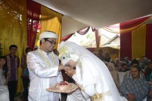Pernikahan Eika Vio dan HD Gumilang