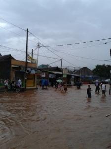 Banjir di daerah Buah Dua Rancaekek